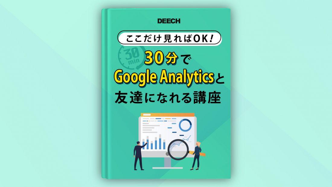 ここだけ見ればOK! 30分でGoogle Analyticsと友達になれる講座 セミナー資料の画像